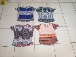 Vendo kit de blusas de viscose