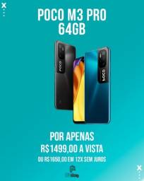 Título do anúncio: Xiaomi Poco M3 Pro 64gb Lacrado (ac.cartão)