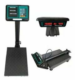 Balança digital plataforma 150kg ferro reforçado