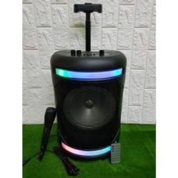 Caixa de som amplificada com puxador 300w original