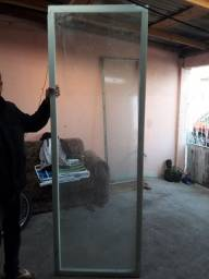2 vidro usado para teto de casa
