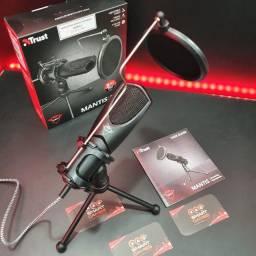 Título do anúncio: Microfone p/ Streamer Mantis - Qualidade de captação