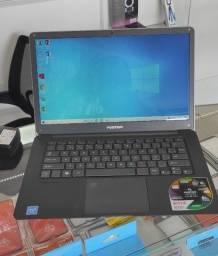 "Notebook Positivo Motion Plus Q432A, Intel Atom Quad-Core, RAM 4GB, SSD 32GB, 14"" W10"