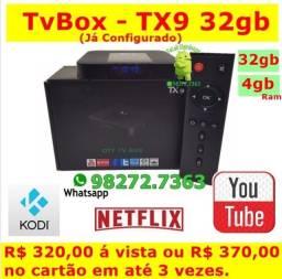 TX9 Android  - TvBox - ¨32gb /4gbRam