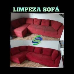 Título do anúncio: Lavagem a seco sofá