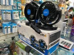 Título do anúncio: Ventilador automotivo Duplo Knup 24V