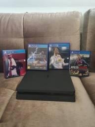 Título do anúncio: Playstation 4 Slim 1 TB