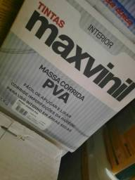 Oferta massa pva 20kg maxvinil na Cuiabá Tintas  - imperdível!!