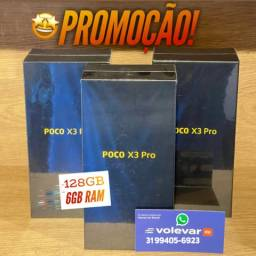 Título do anúncio: PROMOÇÃO! Poco X3 PRO 128GB 6GB - Novo Lacrado GARANTIA - MENOR TAXA do MERCADO!