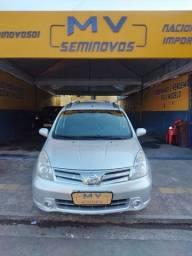 Título do anúncio: NISSAN GRAND LIVINA 1.8 SL COM GNV INGETAVEL AUTOMÁTICO