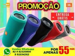 Caixa Charge 3+mini primeira linha Emborrachada - Entrega Grátis