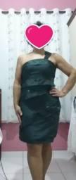 Vestido de Festa da Tons, bordado, como novo
