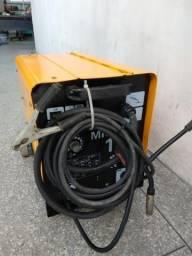 Maquina de solda elétrica e a gás