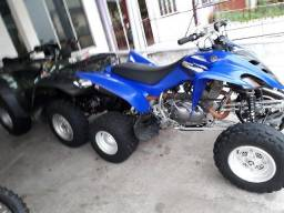 2 quadriciclos raptor e fourtrax 350cc