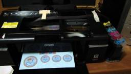 Impressora Epson T50 Stylus Photo Cd/dvd