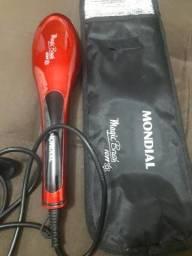 Escova alisadora Magic Brush Mondial