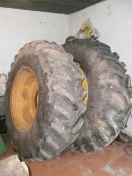 Par de pneus 18-4-30 / 10 lonas