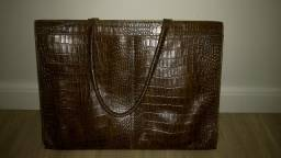 Bolsa feminina em puro couro para trabalho comprar usado  São José Dos Campos