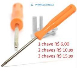 Chave Torx T8 Com Furinho Guia, Para Xbox 360 / Ps3 / Ps4, usado comprar usado  Porto Alegre