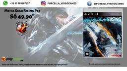 Jogo Metal Gear Rising Original Midia Física para Playstation 3