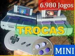 Mini Super Nintendo. Vídeo Game Retro Hdmi. Snes, Atari, Mega driver, Playstation, usado comprar usado  Brasília