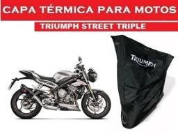 Capa personalizada Triumph - Street Triple