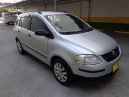 Vw - Volkswagen Spacefox 1.6 Trend Completa + GNV !! Carro Muito Novo !! - 2007