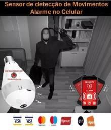 Lâmpada Wifi LF Visão Noturna, Câmera, Wi-fi, Andoird, Iphone