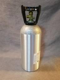 Cilindro de Alumínio CO2 4,5kg - Para chopeira ou aquário