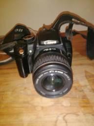 Canon Rebel Xt Eios - DS 126071 - Lente EFS 18-55 - Carregador