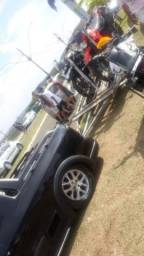 Vendo ou troco rodas originais vw saveiro cross g6 por rodas 20 furacão 4100 - 2015