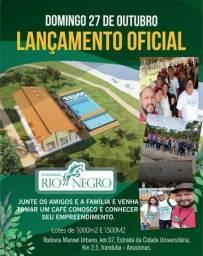 Chácaras do Rio Negro 1000m² c/ Guarita e Parcelas que Cabem no seu Bolso R$ 299 reais
