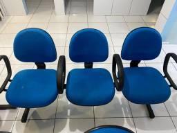 Cadeira conjugadas para sala de espera