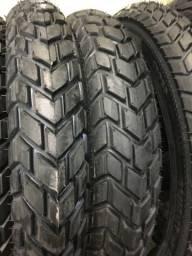 Título do anúncio: pneu dianteiro para motos bross crosser maggion 90/90-19 entrega todo rio