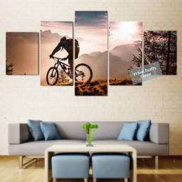 Quadro Mosaico Decorativo Personalizado- Ciclismo