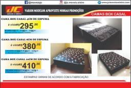 Cama box casal mega promoção a partir de r$295,00 reais