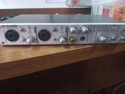 Placa de áudio M audio