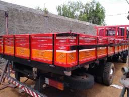 Carroceria De Madeira Para Vw Delivery E Ford Cargo
