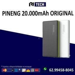 Power Bank Pineng 20.000 Mah - Original - com garantia