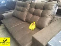 Sofá retrátil e reclinável por apenas R$:1799
