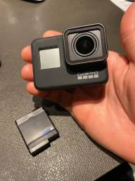 GoPro Hero 7 Black 12MP 4K Wi-Fi Bluetooth 2? - a Prova de Água com Bateria