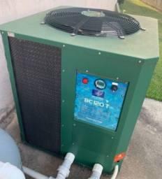 Trocador de calor para aquecimento de piscina