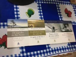 4 livros de bolso do autor Augusto Cury