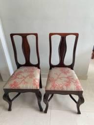 Cadeira madeira maciça - cedro rosa.