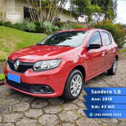 Renault Sandero Authentique 2018 baixa km