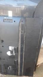 2 TV tela quebrada