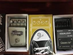 Pedal de Guitarra Jackhammer e Equalizador