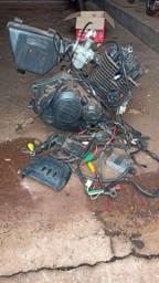 Suzuki Yes-motor Completo + Carburador + Filtro Ar + Chicote