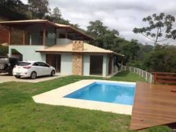 Temporada em Secretário, Petrópolis RJ. Casa novíssima em Condomínio, para 10 pessoas.