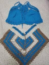 Conjunto crochê